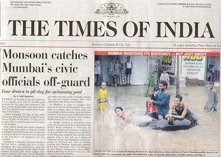 Monsooncatches Mumbai S Civic Officials Off Guard
